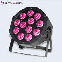12X12W 4 en 1 RGBW 7 LED Par éclairage de scène DMX effet de mélange DJ lumière de fête