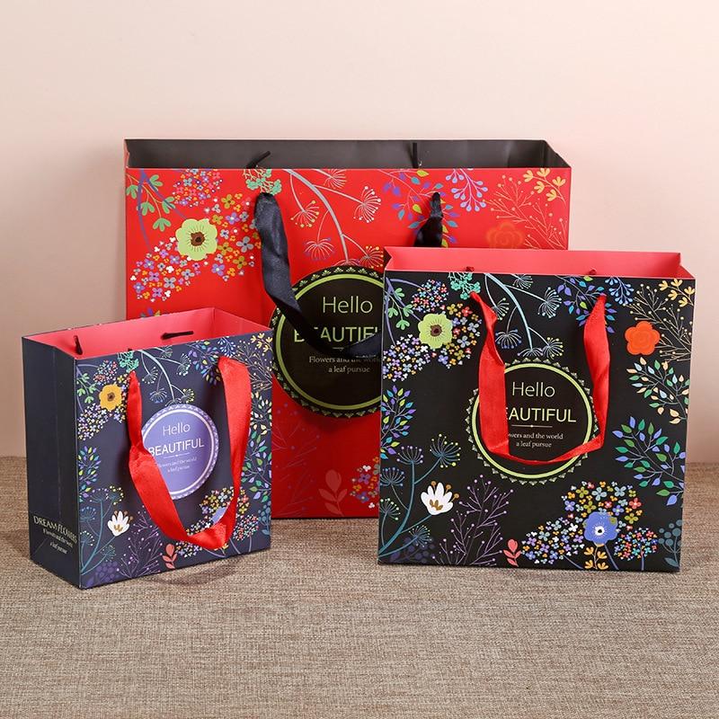 Ropa de embalaje de cosméticos bolsa de regalo cajas de regalo pastel...