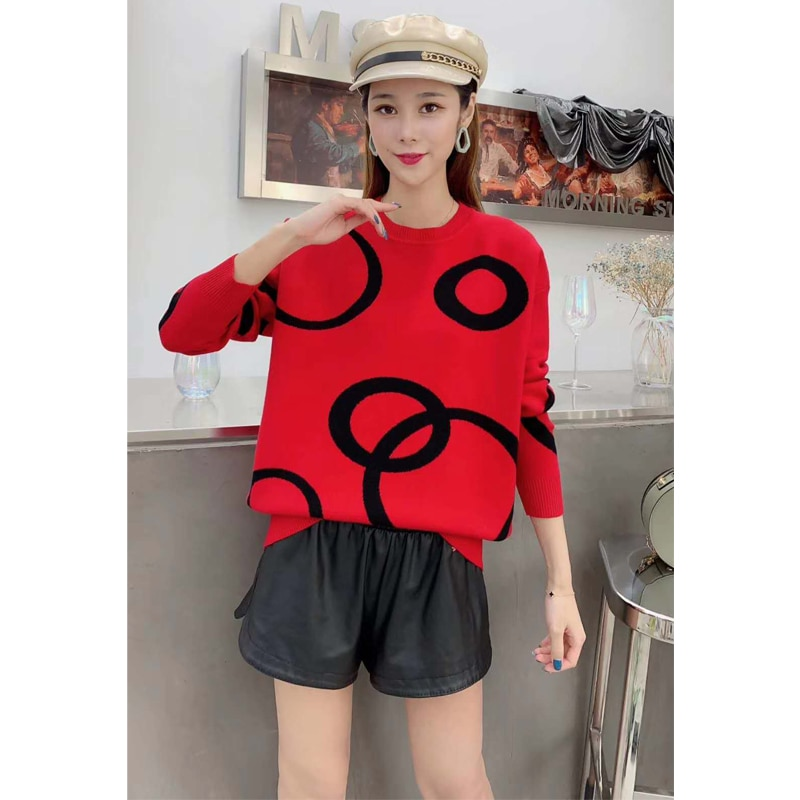 New style Autumn Winter Women Sweaters and Pullovers o-neck Slim Knitted warm sweater woman sweaters enlarge