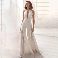 2021 white party jumpsuits birthday outfits for women v neck flare pants sleeveless sexy eleagnt ladies jumpsuit women outfits