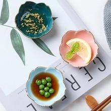 Creative Cherry Mini Plaat Keramische Schotel Soep Voedsel Rijstkom Pigmenten Sojasaus Azijn Jam Gerechten Diner Lade Servies Gift 1Pc
