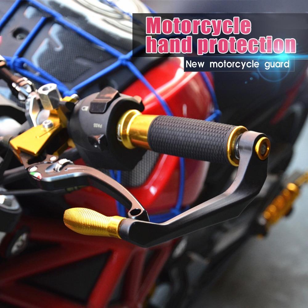 De aluminio de manillar de la motocicleta guardamanos para honda c50 suzuki dl650 yamaha r1m aprilia rs 50 bmw r1150r bmw r 1200 gs ktm 690