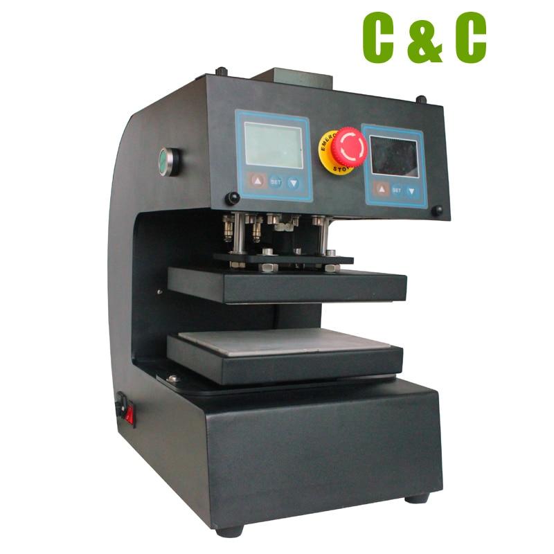 10cmx15cm Electric Auto Rosin Press Machine High Pressure 13000PSI Dual heat plates LCD control no need air compressor NO.CK10