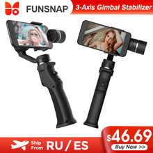 Xiaomi Youpin Funsnap 3-Axis Handheld Gimbal Stabilizer Wireless Bluetooth for iPhone Cellphone Gimbal Smartphone Video Record