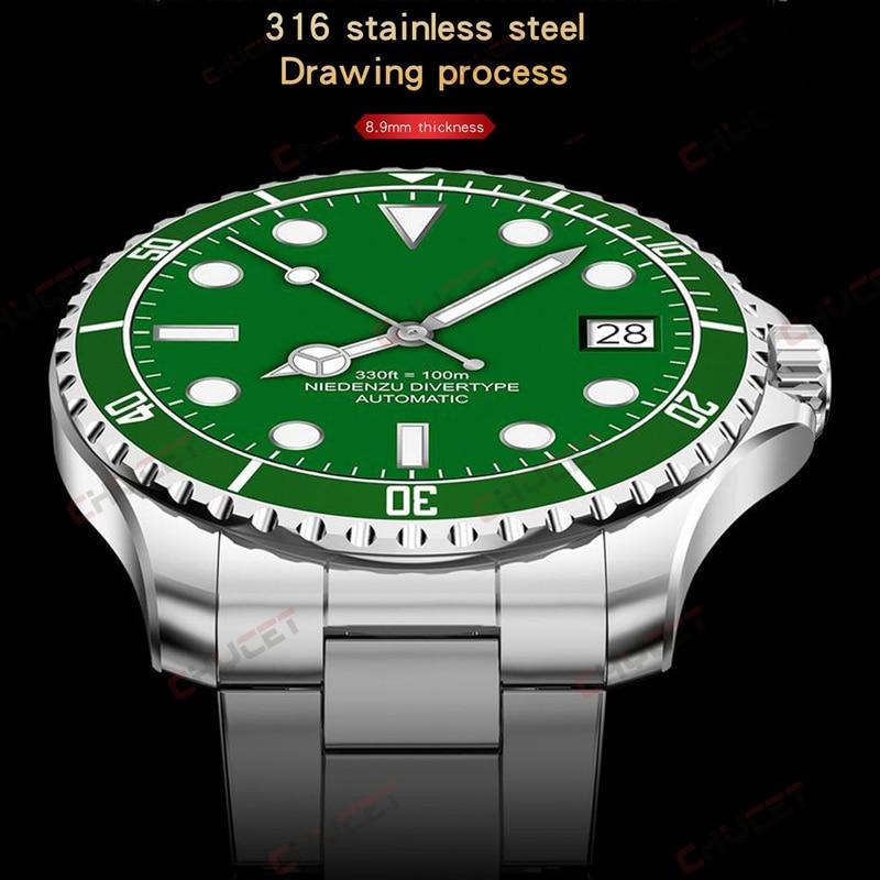 CHYCET New Fashion Smart Watch Men 8.9mm Thickness Sport Business Watch Smartwatch Women Stainless S