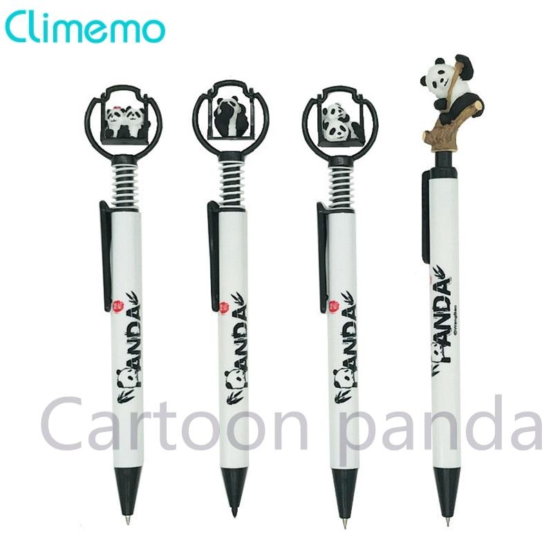 Climemo mecânica lápis escrita suprimentos kawaii dos desenhos animados panda 0.5mm estudante criativo papelaria lápis automático para a escola
