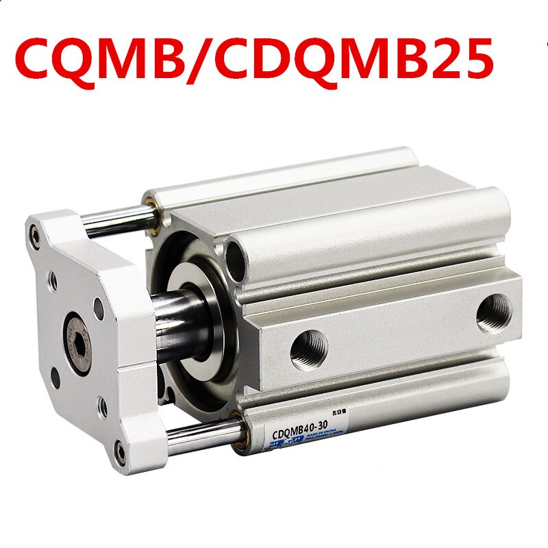 Фото - Smc type air cylinder CQMB/CDQMB bore 25mm compact rod guide pneumatic cylinder components stroke 5/10/15/20/25/30/35/40/45/50m air cylinder sda series male thread pneumatic compact airtac type 16 20 25 32 40 50 63mm bore to 5 10 15 20 25 30 35 40 45 50mm