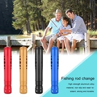 fishing rod handle kit for change aluminum alloy light weight fishing rod kit universal replaceable fishing rods handle grip