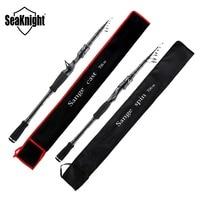 SeaKnight Sange II Fishing Rod M MH 2.1M 2.4M Carbon Telescopic Casting Spinning Rod 7-25g 8-18LB Fishing Rods