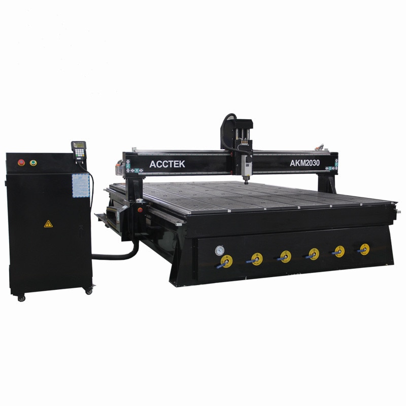 Wood Working Tools Cnc Machine 2030 Water Cooling Spindle Vacuum Table Cnc Router
