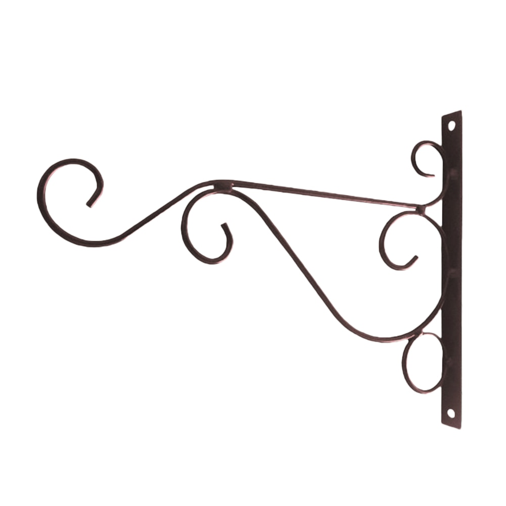 Decoración romántica, colgante de pared para baño, jardinería, maceta, gancho para balcón, hierro, soporte para casa clásico, estilo europeo