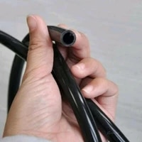 1m fuel hose 6mm 14 inches full silicone fuel gasoline oil air vacuum hose line pipe tube car accessories fast delivery ship