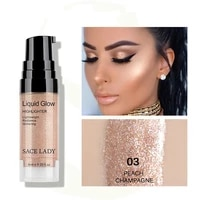 face highlighter cream liquid illuminator makeup shimmer make up facial brighten shine highlighters cosmetic wholesale