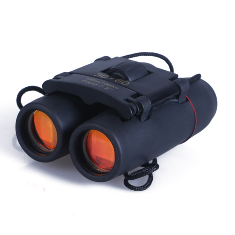 30X60 Zoom Folding Tag Nachtsicht Fernglas Teleskop Tragbare Tasche Hohe Qualität High-definition Vision Jagd Optik