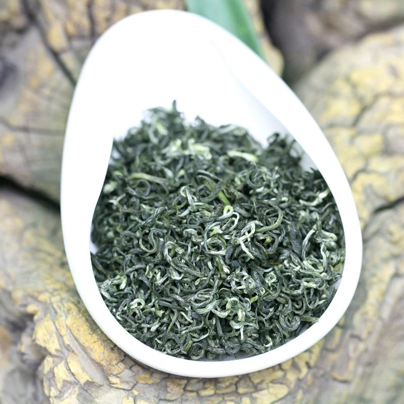 2021 الصينية ثنائية لوه تشون شاي أخضر 250g العضوية الحقيقية الجديدة في وقت مبكر الربيع شاي أخضر لتخفيف الوزن الرعاية الصحية