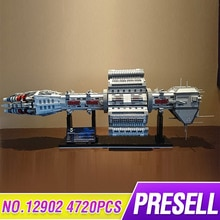 New Star Toys Wars MOC 12902 EAS Agamemnon Set Republic escort cruiser Building Blocks LepinBricks Toys Kids Christmas Gifts
