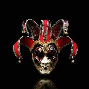 Venice Carnival Masks Full Face The Mask Festival Party Christmas Masquerade Bauta Facial Mask Halloween Cospaly Luxury Masks