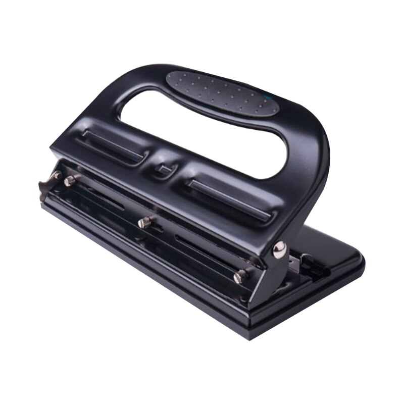 Adjustable 3-Hole Paper Punch Puncher for A4 Refill 30 Sheet Imperial Scales