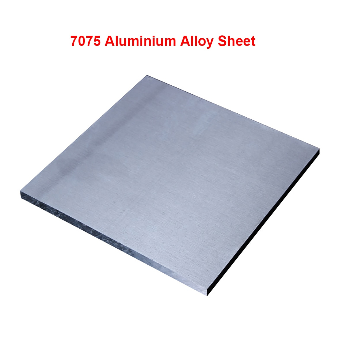 1pcs 7075 Aluminium Alloy Sheet Plate DIY Hardware Aluminium Board Block Thicked Super Hard 10mm Thickness 11 Sizes Available