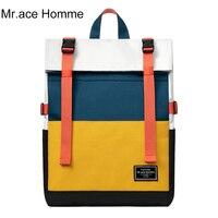 Большой рюкзак для ноутбука 15,6 дюйма для женщин и мальчиков, желтый квадратный школьный ранец для девочек, водонепроницаемая дорожная сумк...