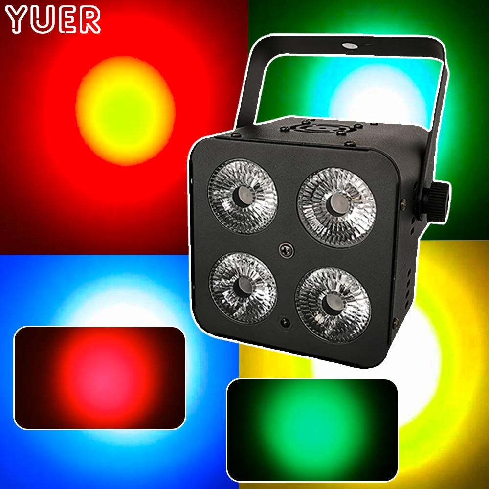 controle para dj luminaria led com efeito cob rgbw com dmx512 controle para festa