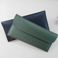new 2021 fashion women pu leather wallets brand female purse coin pouch cell phone bag multi functional cards holder long wallet