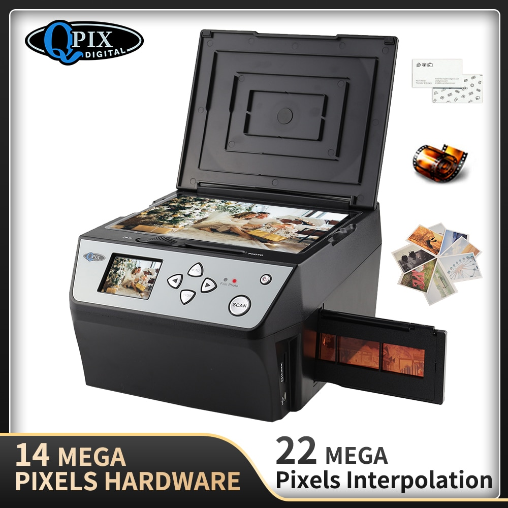 22 Mega píxeles 4 en 1 COMBO foto Digital y escáner de...