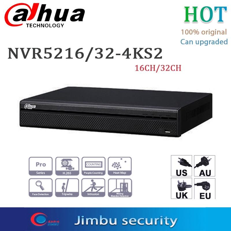 داهوا P2P NVR مسجل فيديو 8CH 16CH 32CH NVR5208-4KS2 NVR5216-4KS2 NVR5232-4KS2 دعم 4K H.265 يصل إلى 12Mp قرار معاينة
