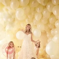 510inch ivory white balloon 1 21 8g thickened angel latex balloons baby shower birthday party wedding decoration