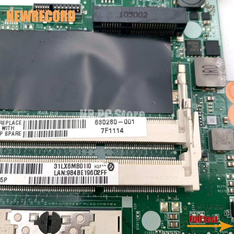 Купить с кэшбэком NEWRECORD DALX6MB6H1 630280-001 for HP DV6 DV6-3000 series laptop motherboard HM55 Mobility Radeon HD 5470 DDR3