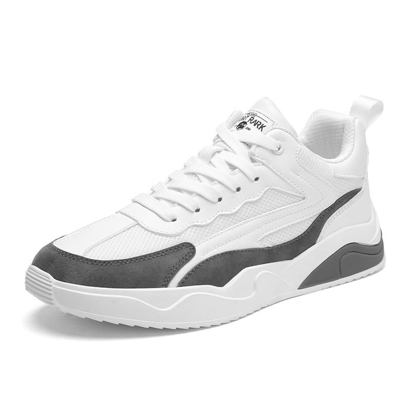 حذاء خفيف صيفي جديد موضة 2021 ، حذاء يومي غير رسمي يسمح بالتهوية ، شبكة رباط الحذاء للشباب ، موضة متطابقة مع ألوان تسلق الجبال