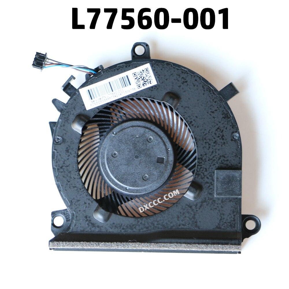 L77560-001 para HP 15-EC0013dx 15-EC0001ca 15-EC0003ca 15-EC0001ne ventilador de refrigeración de la CPU