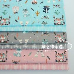 160cm * 50cm fuchs pfeil baumwolle stoff DIY bettwäsche quilten bekleidung kleid patchwork stoff kinder handarbeit vorhang decor tuch