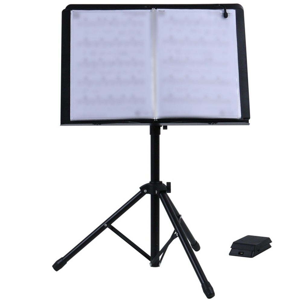 1pc Automatic Page-Flipping Machine General For Musical Score Performance Brand New Foldable Guitars Basses Parts Accessories enlarge