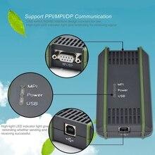 Adaptateur de câble USB pour S i e m e n s S7-200/300/400 RS485 Profibus/MPI/PPI 9 broches remplacer pour S i e m e n s 6ES7972-0CB