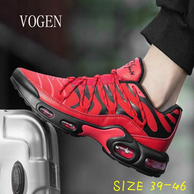 ¡Novedad! Zapatillas de correr de estilo clásico para hombre, talla grande 46, zapatillas deportivas con cordones para hombre, zapatillas deportivas para correr al aire libre, zapatillas atléticas para caminar 2020