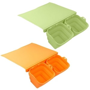 Extra Flexible Silicone Cutting Boards for Kitchen Dishwasher Safe Non-Slip Code 2 Colors BPA Free Silicone Cutting Mats