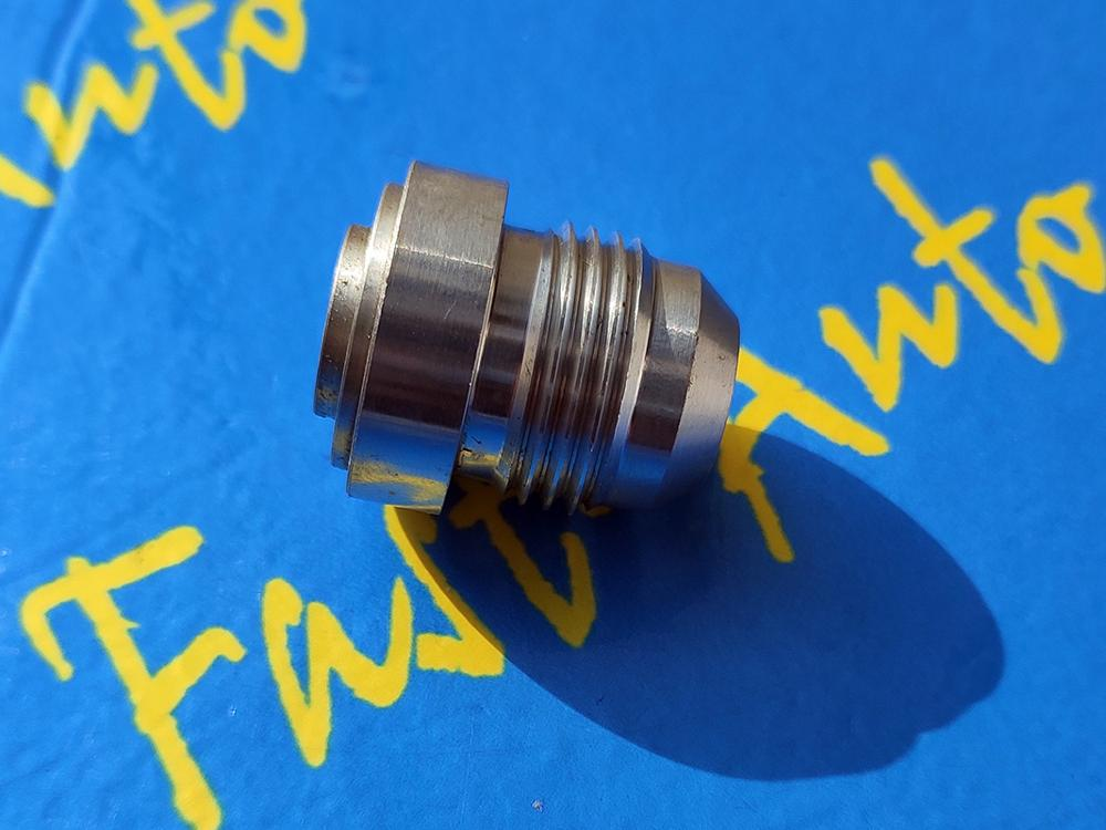 Manguera de aluminio macho AN10 10an an 10 soldadura bung ajuste final para civic 4b11t trust estilo 10 fila de kits de enfriador de aceite