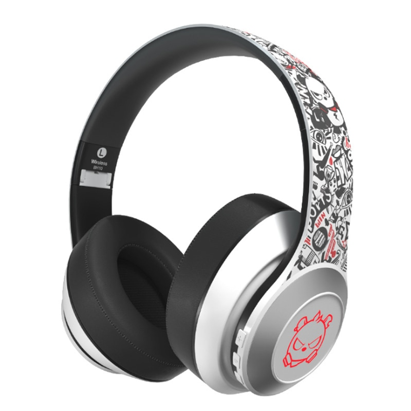 Z50 5.0 Foldable LED Wireless Headphones Bluetooth Earphone Deep Bass Aux Over ear Gaming Headsets For Mobile PC Best Gift Chlid