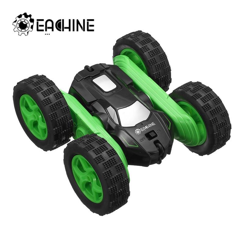Eachine EC02 RC coche 2,4G 4WD truco deriva deformación Buggy de coche 360 grados Flip vehículo Robot modelos de alta velocidad Rock Crawler
