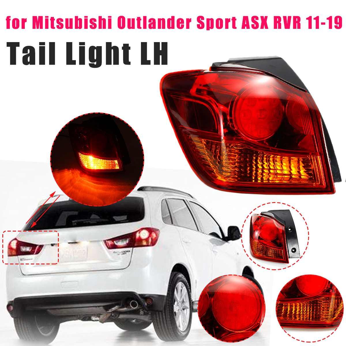 Luz trasera izquierda exterior para Mitsubishi Outlander Sport ASX RVR 2011-2019 lámpara de freno lámpara de señal