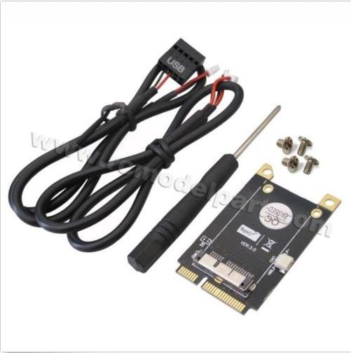 Antena bcm94360cd do caderno a mini pci-e v3.0 bcm94331cm