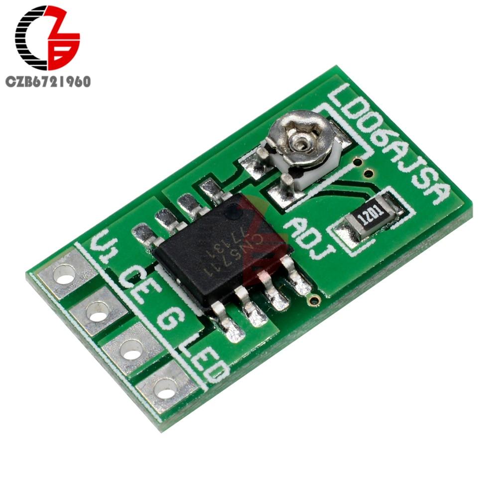 DC 2.V-6V LED Driver Module 30-1500mA Constant Current 3.3V 3.7V 5V PWM Control Board TTL COMS for A