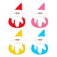 new santa claus wooden die scrapbooking c2834 cutting dies multiple sizes compatible with most die cutting machines