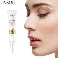 laikou snail anti wrinkle eye cream niacinamide whitening removes dark circles anti aging eye bags fade fine lines eye skin care