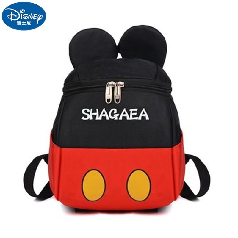 Дисней Микки Маус Минни дети начальной школы студент мальчики и девочки рюкзак сумка для школы сумка дорожный рюкзак