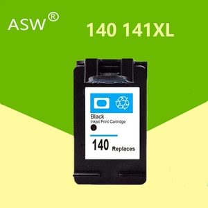 ASW 140XL 141XL Ink Cartridge Replacement for HP 140 141 for HP Photosmart C4283 C4583 C4483 C5283 D5363 printer