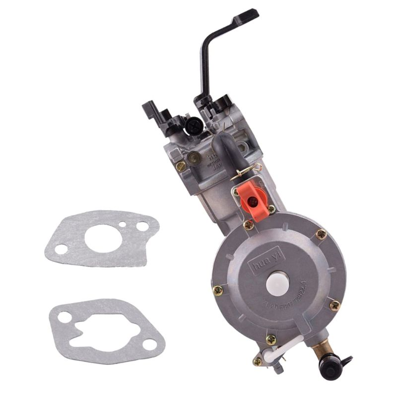 LPG 168 Carburetor dual fuel LPG NG conversion kit for 2KW 3KW 168F 170F N1HF недорого