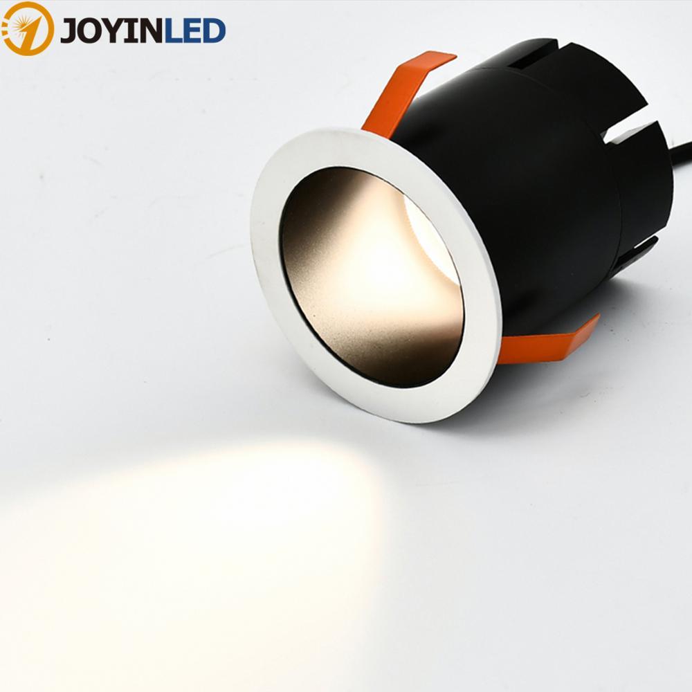 Anti-glare LED home spotlight 5W 7W livingrooms dining room lighting design embedded small spot light Ceiling lamp 220V