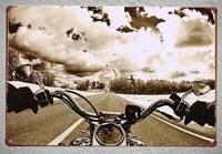 1 pc riding motorcycle motorbike harleysia indiana rider tin plate sign wall man cave decoration art poster metal vintage